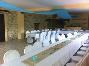 SALLE MONT OLYMPE MARIAGE  40 PERSONNES