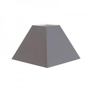 abat-jour-carre-trapeze-en-tissu-gris-16x16cm