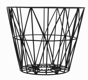 corbeille-rangement-enfant-wire-noire-ferm-living