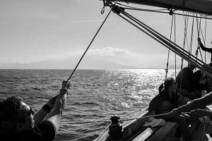 Voiler insolite Goélette bateau 2