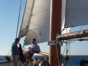 Voiler insolite Goélette bateau 3