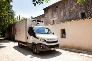 Camion de livraison de La Table de Cana