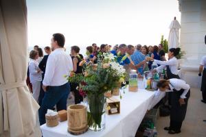 buffet de La Table de Cana à la villa gaby
