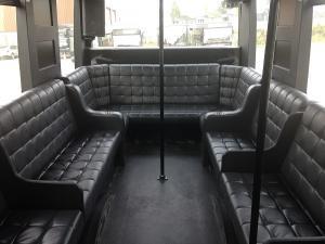 206 Carré VIP à l'arrière