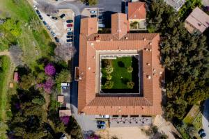 Vue Drone Verticale Le cloitre Marseille