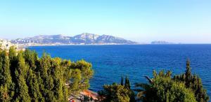 paysage vue de la villa gaby